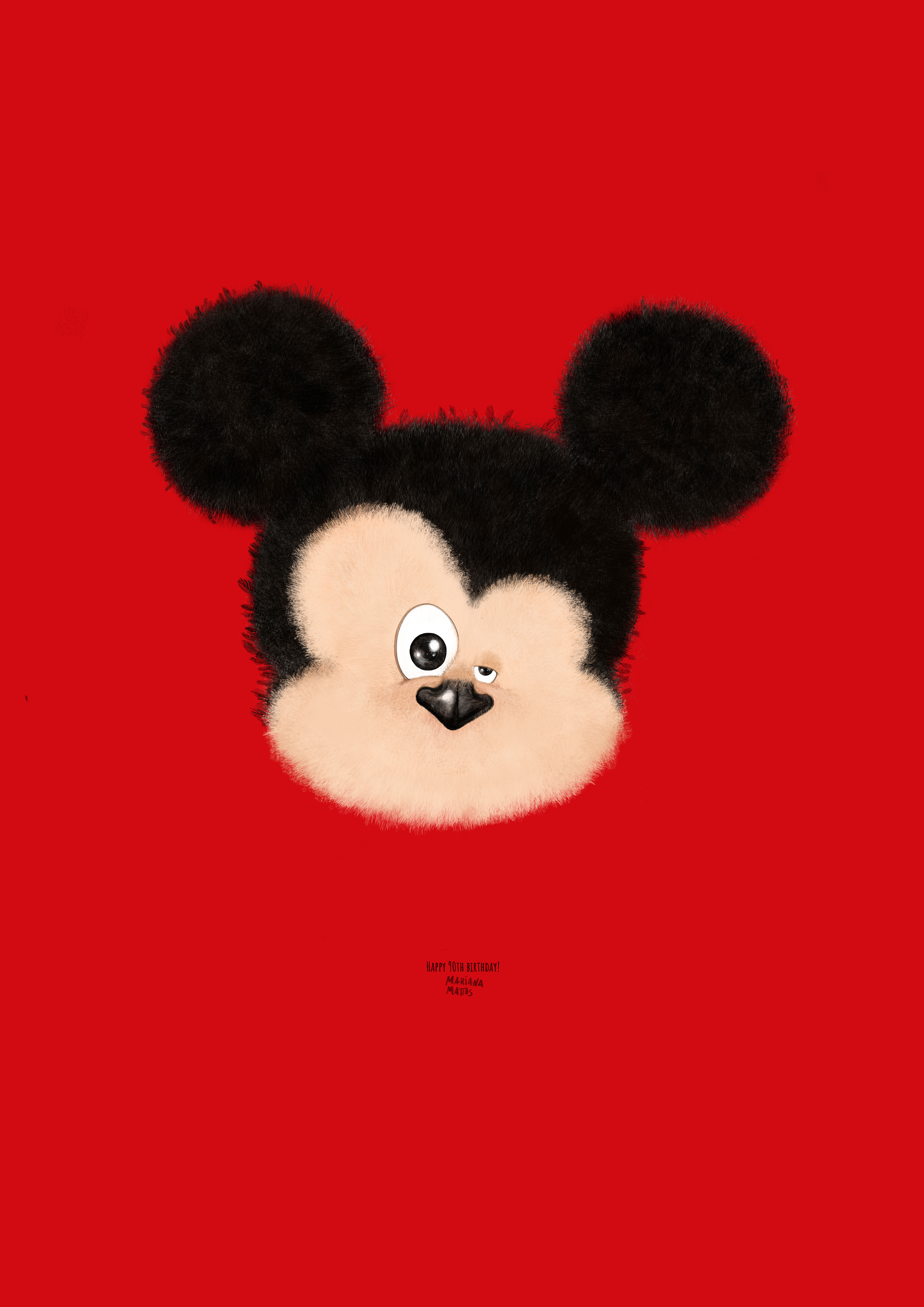 90th birthday Mickey Mouse