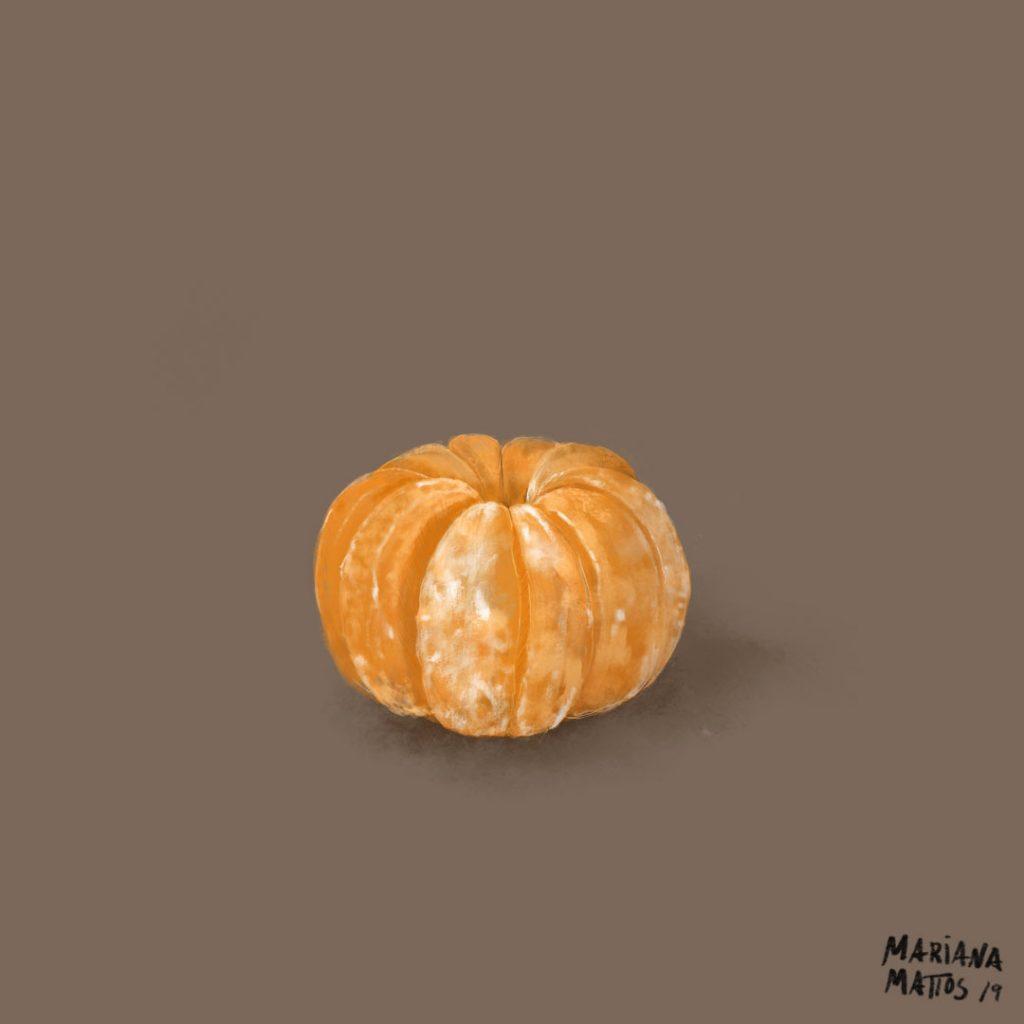 a tangerina