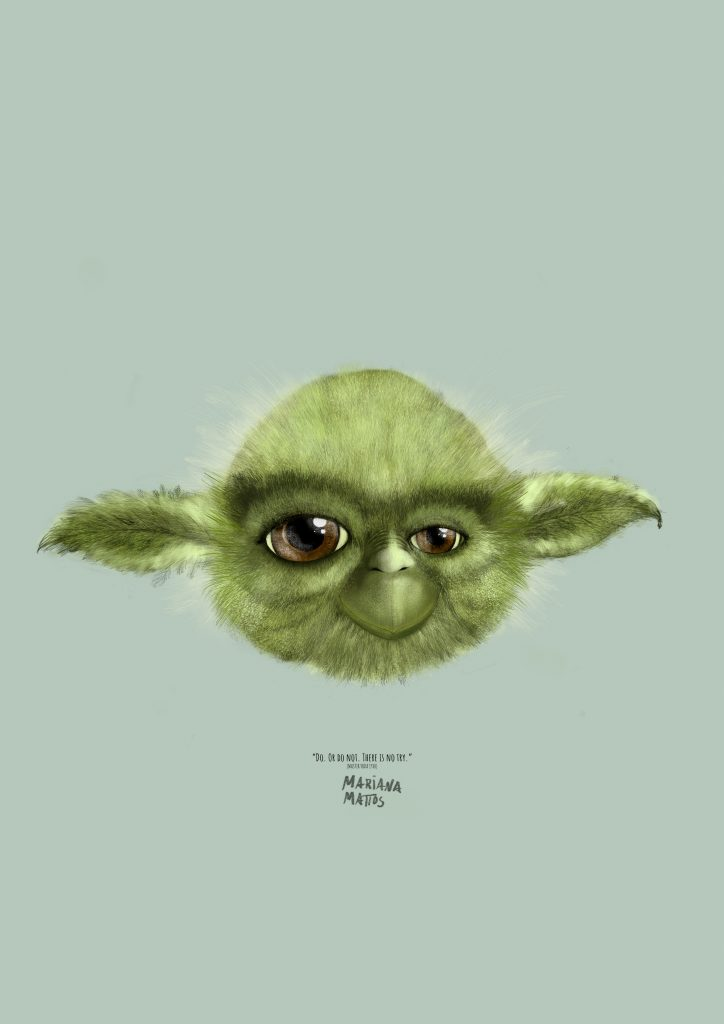 The Feather Tales Yoda